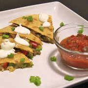 Hearty Vegetable Quesadillas