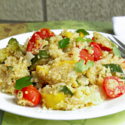 Quinoa with Sautéed Veggies