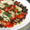 Warm Chicken and Black Bean Salad
