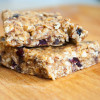 Trail Mix No Bake Bars