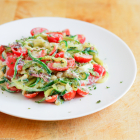 Bacon and Tomato Zoodles