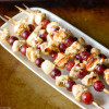 Grilled Chicken and Grape Skewers
