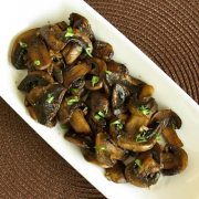 Sautéed Mushrooms and Garlic