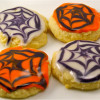 Perfectly Glazed Sugar Cookies - Halloween Style!