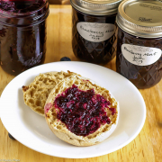 Blueberry Jam with Mint and Lemon
