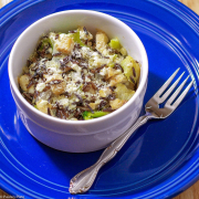 Turkey Wild Rice Broccoli Bake