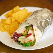 Waldorf Chicken Wrap