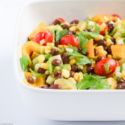 Bean, Avocado, and Tomato Salad